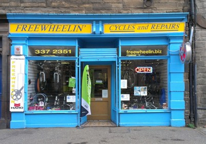 Freewheelin cycles shop slateford