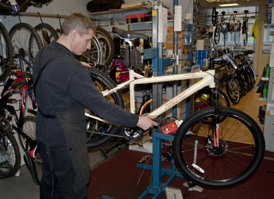 bicycle repairs servicing edinburgh