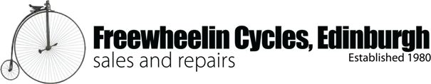 Freewheelin Bicycle Shop Edinburgh – Sales And Repairs. Since 1980